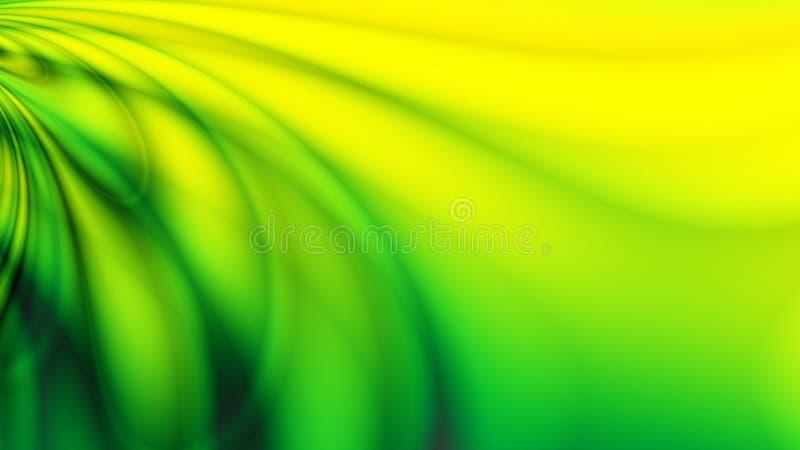 Projeto verde da energia ilustração royalty free