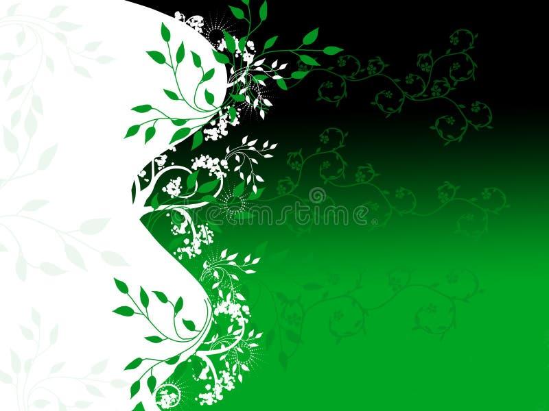 Projeto verde da videira ilustração royalty free