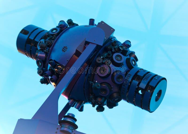 Projetor da estrela do planetário imagens de stock royalty free