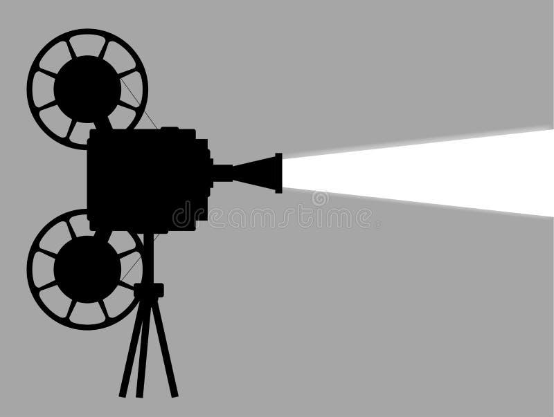 Projetor de cinematografia do filme ilustração do vetor