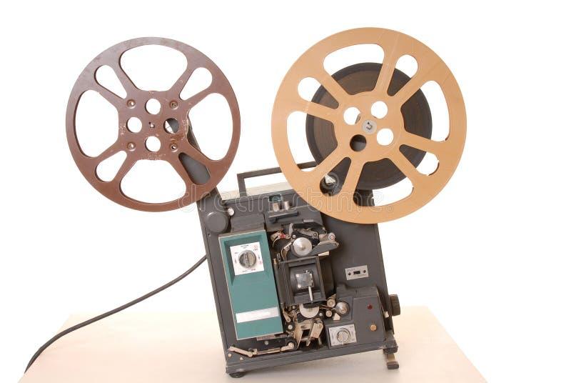 Projetor de película 16MM fotografia de stock