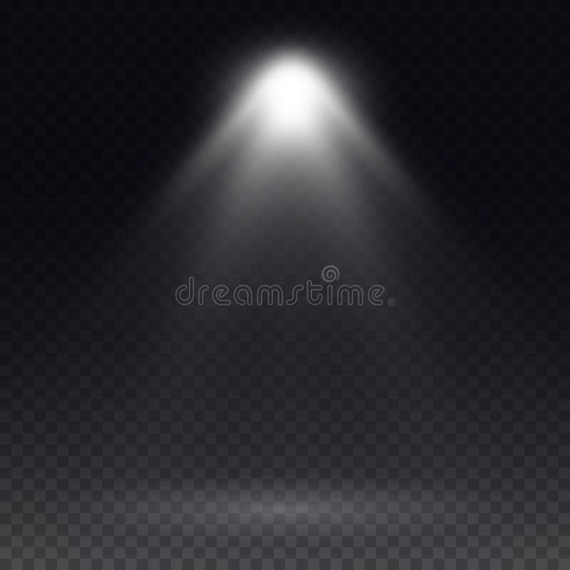 Projetor do vetor Efeito da luz ilustração do vetor