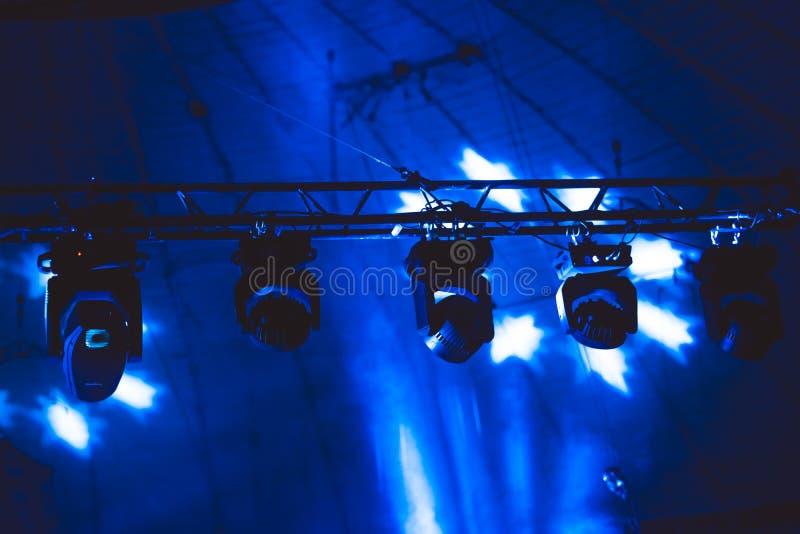 Projetor no concerto foto de stock royalty free