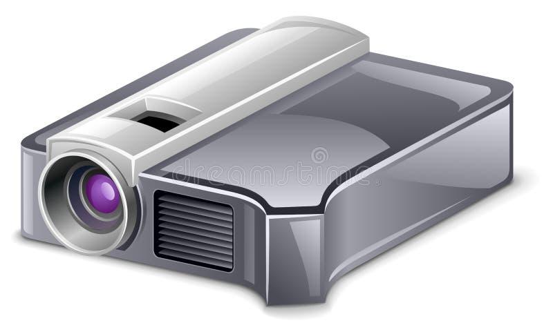 Projetor video ilustração stock
