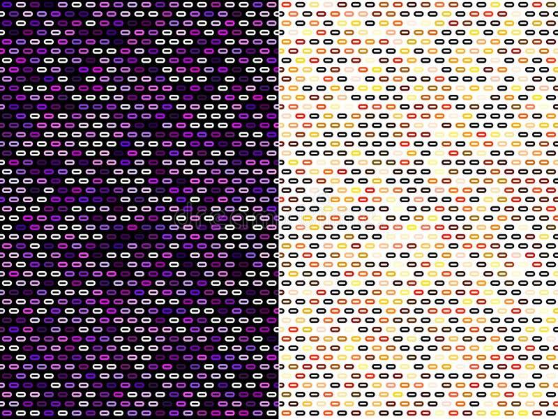 Projetos abstratos do teste padrão imagem de stock