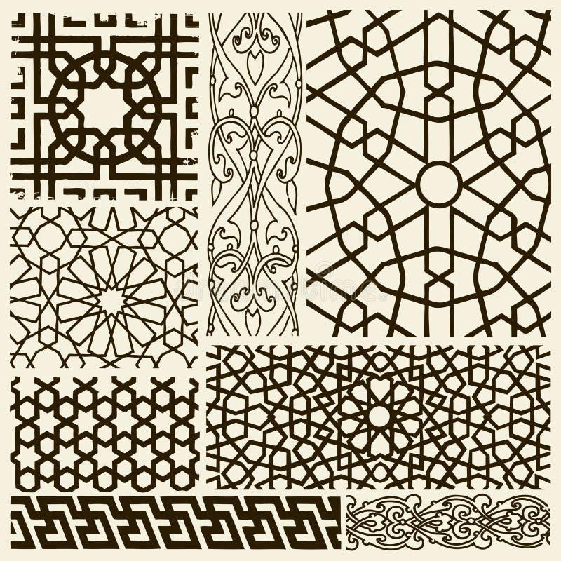 Projetos do Arabesque ilustração stock