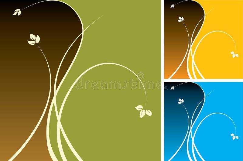 Projetos florais ilustração royalty free
