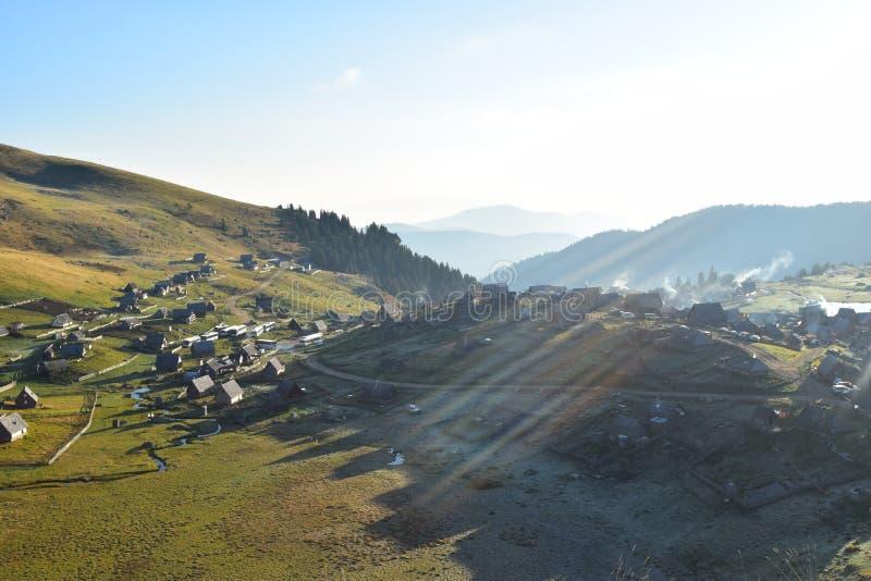ProkoÅ ¡ ko Jezero Planina Vranica royalty-vrije stock afbeeldingen
