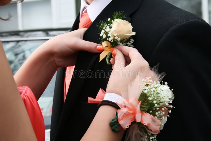 Prom 2008 royalty free stock photography