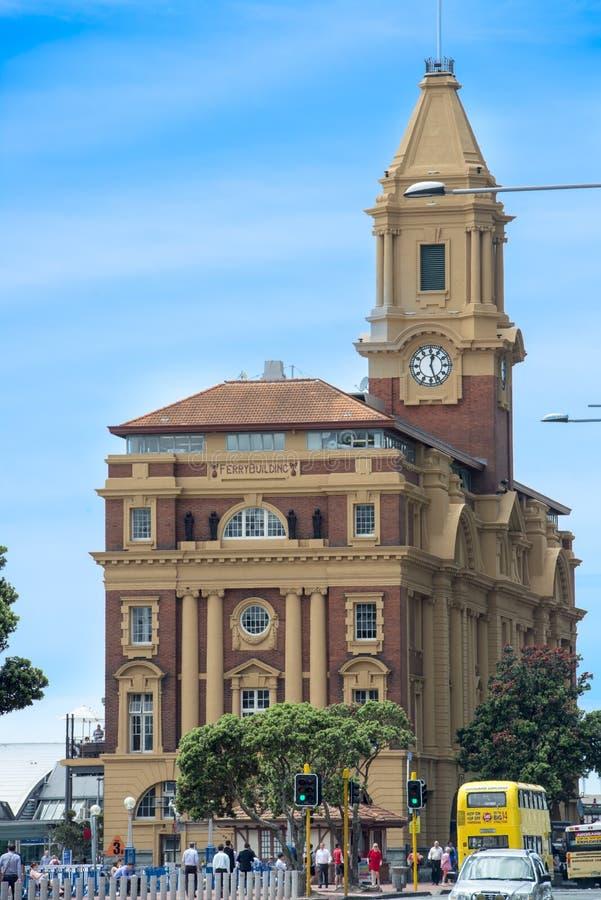 Prom Buduje Auckland obraz royalty free