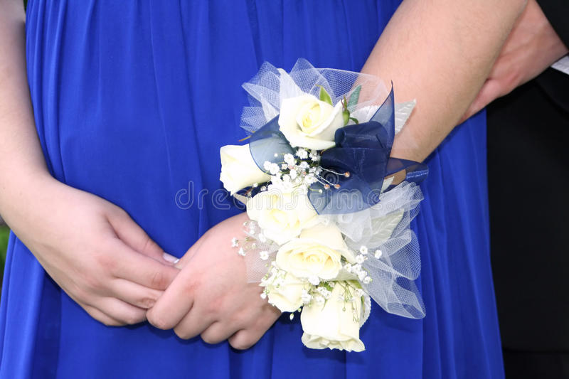 Prom Corsage royalty free stock images