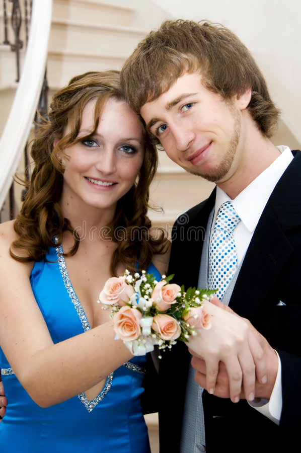 Free Prom Couple Royalty Free Stock Image - 9347706