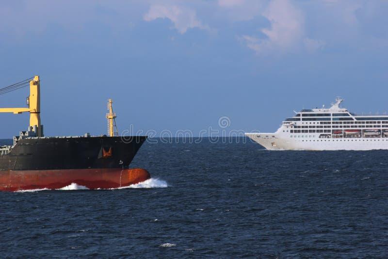 Prom I zafrachtowanie statek zdjęcia stock