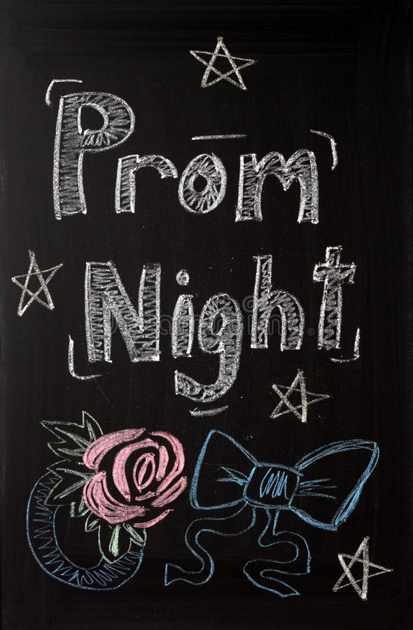 Free Prom Night Announcement Stock Images - 33498444