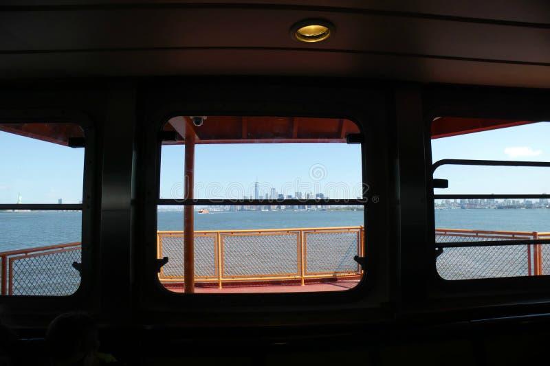 prom wyspa staten zdjęcie stock