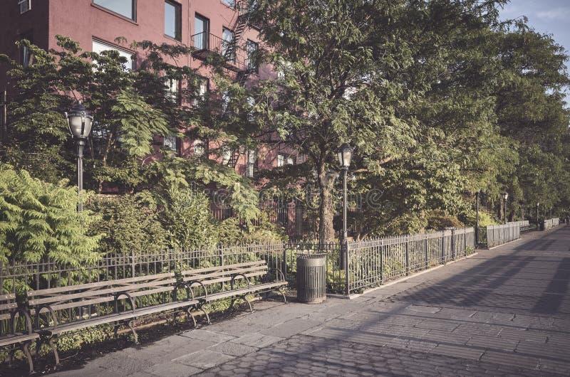 Promenad i Brooklyn New York, USA arkivfoto