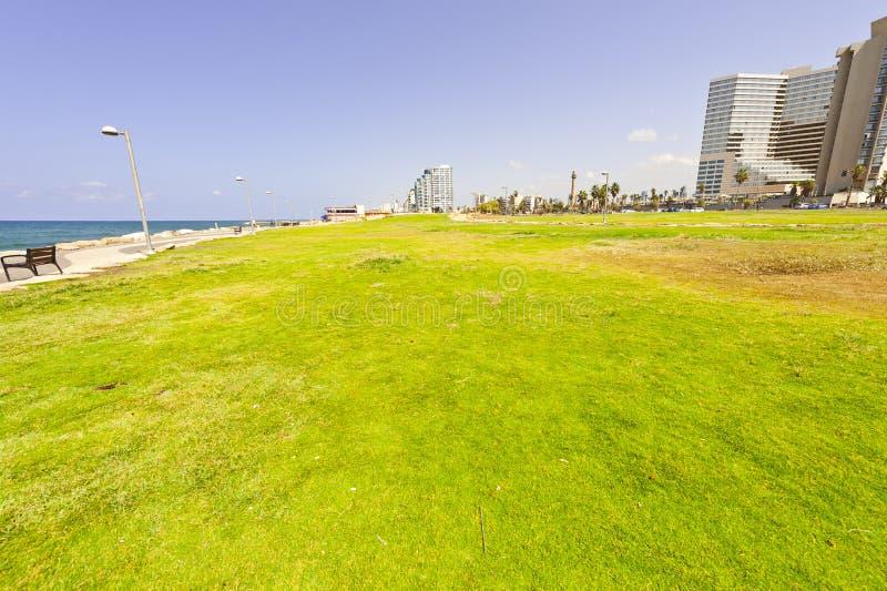 Promenad i Tel Aviv royaltyfria bilder