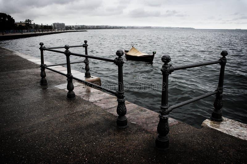 promenada Thessaloniki obrazy stock