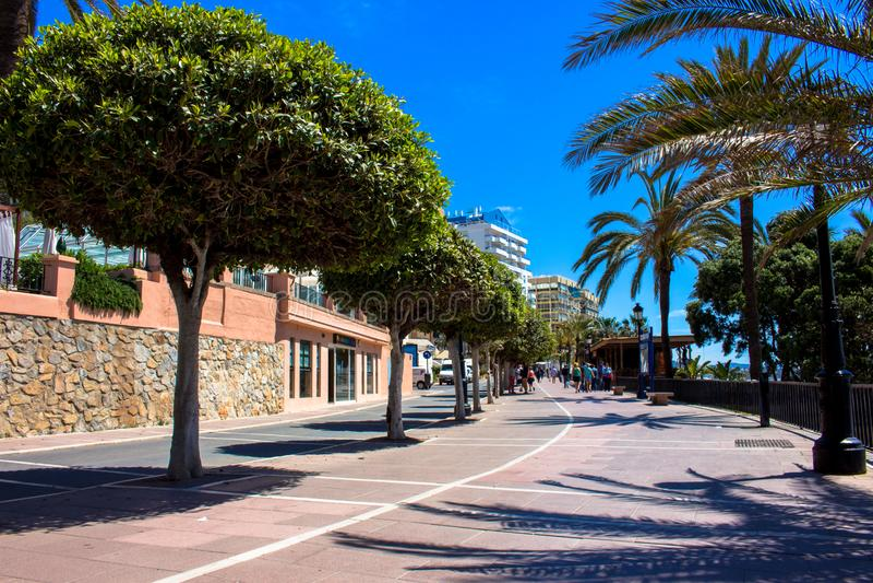 promenade royalty-vrije stock afbeelding