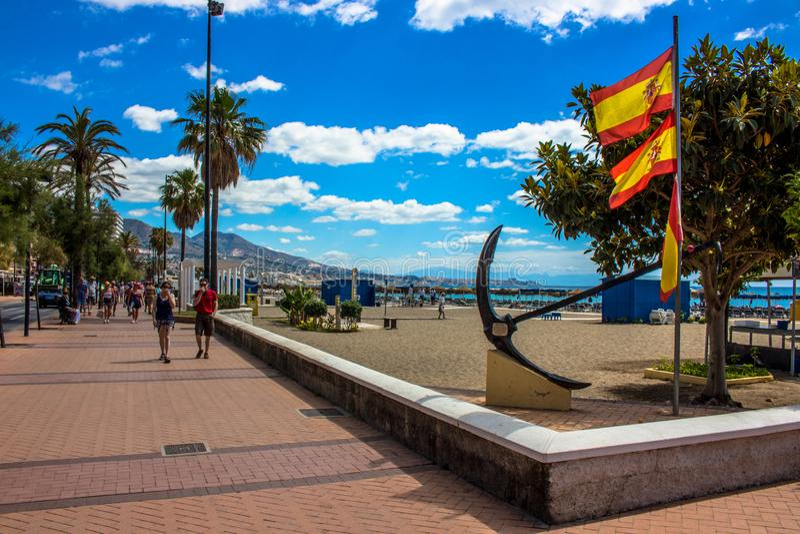 promenade royalty-vrije stock fotografie