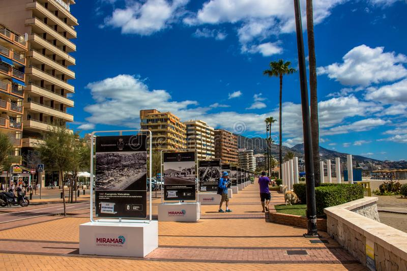 promenade stock foto's