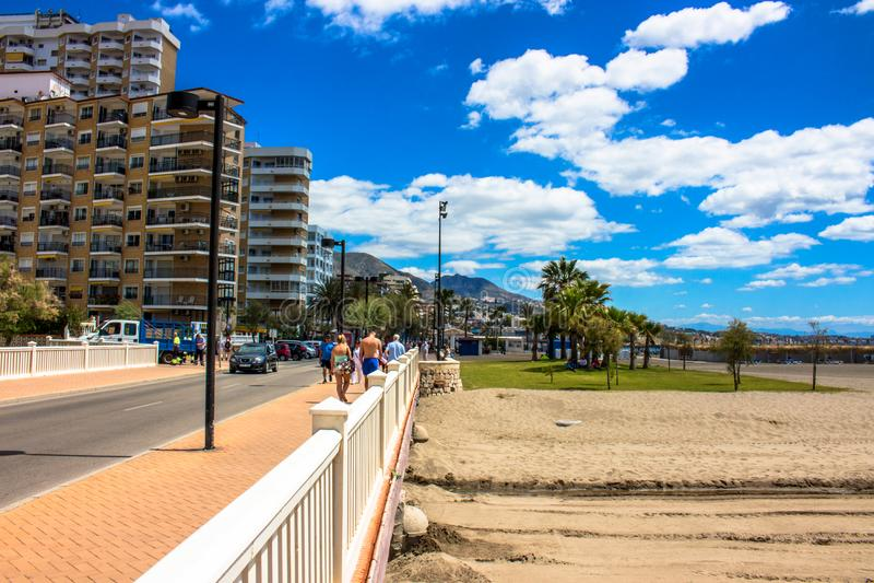 promenade stock fotografie