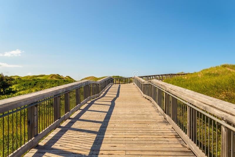 Promenade aan Brackley-Strand van het Strand het Provinciale Park royalty-vrije stock foto