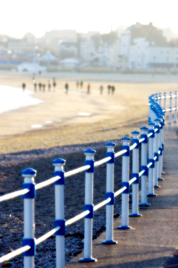 Free Promenade And Beach In Weymouth, Dorset, England Royalty Free Stock Photography - 568807