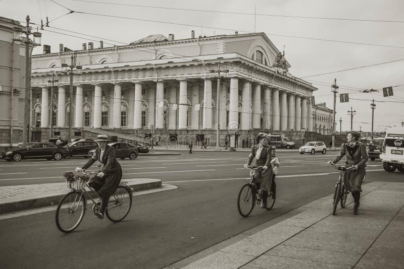 Promenade autour de la ville image libre de droits