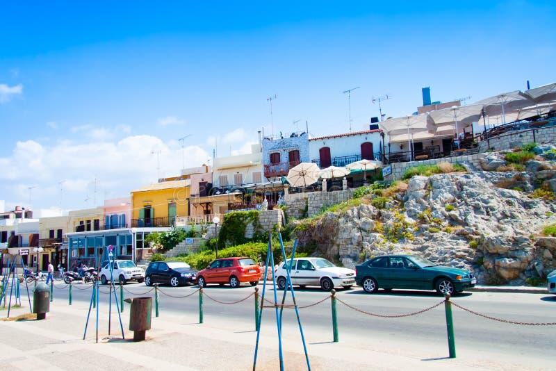 Promenade dans Rethymno photographie stock libre de droits