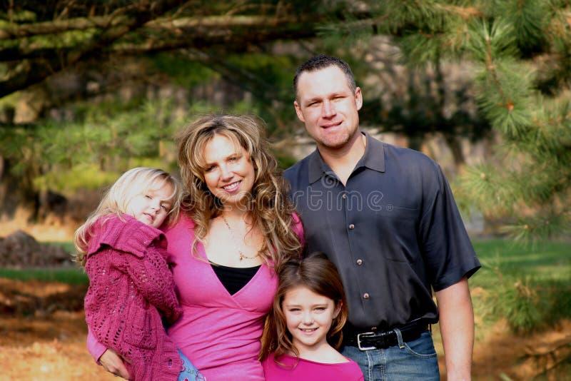 Promenade de famille photos stock