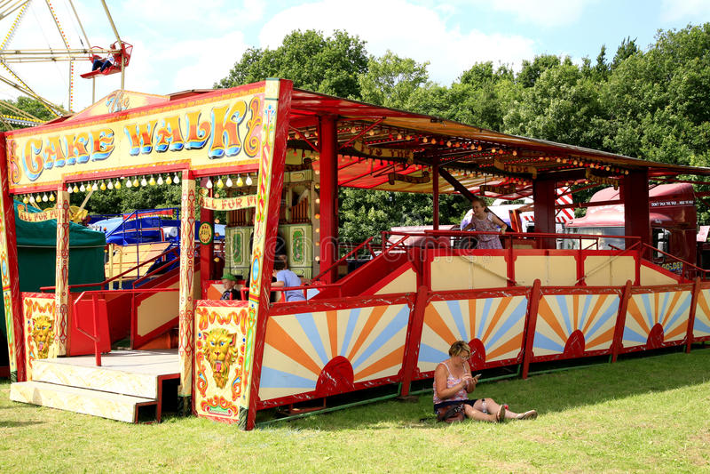 Download Promenade De Gâteau De Champ De Foire Image éditorial - Image du derbyshire, coloré: 56490515