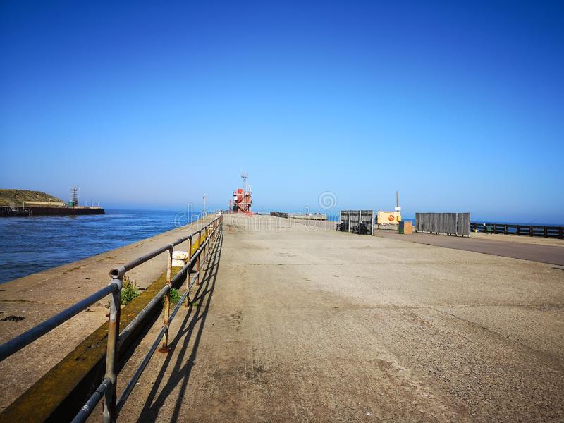 'promenade' de Gorleston fotografía de archivo