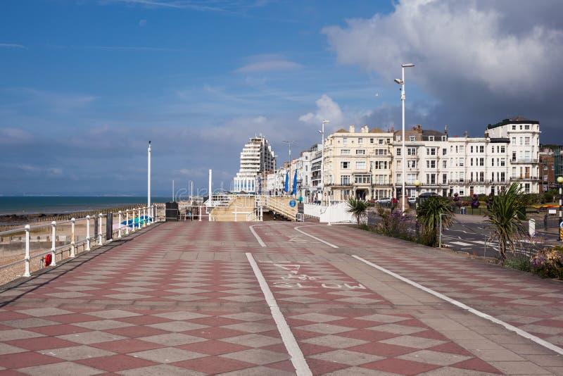 'promenade' de Hastings, Sussex del este fotografía de archivo libre de regalías