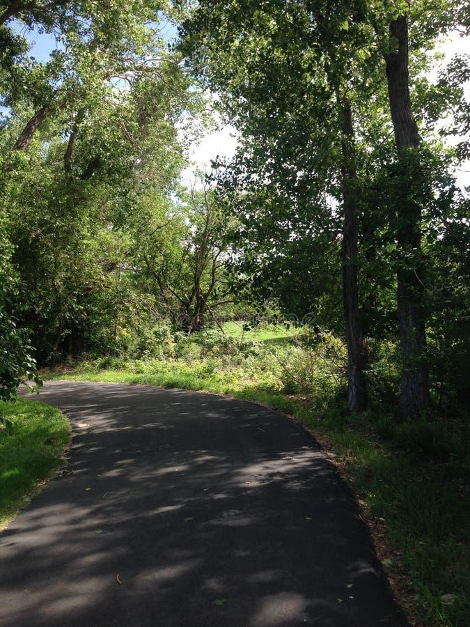 Promenade de nature images stock