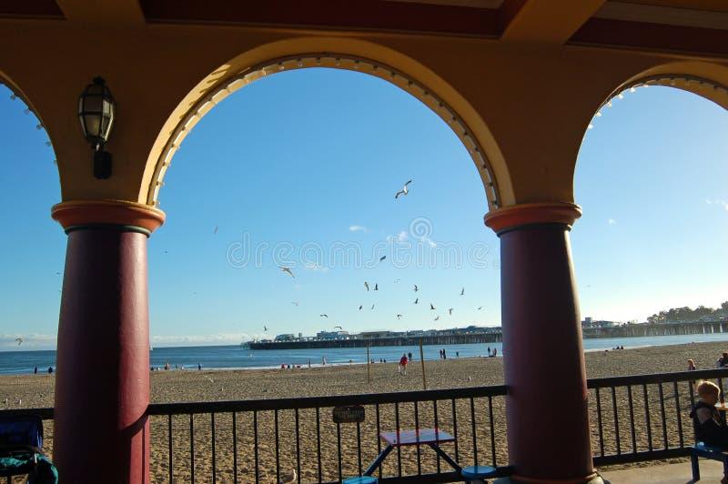 Promenade de Santa Cruz images stock