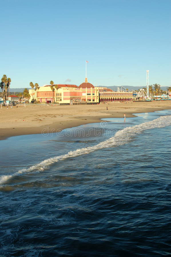 Promenade de Santa Cruz photo libre de droits