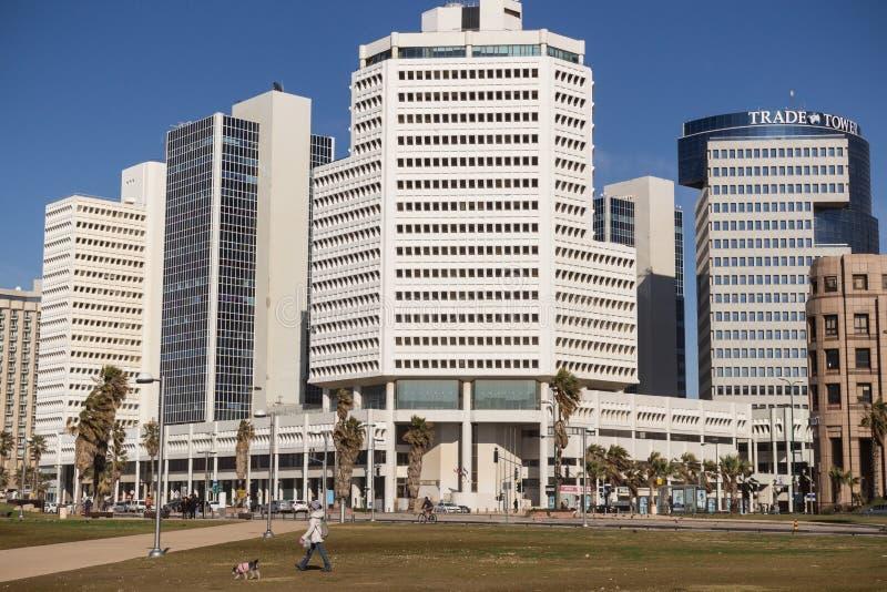 Promenade de Tel Aviv image libre de droits