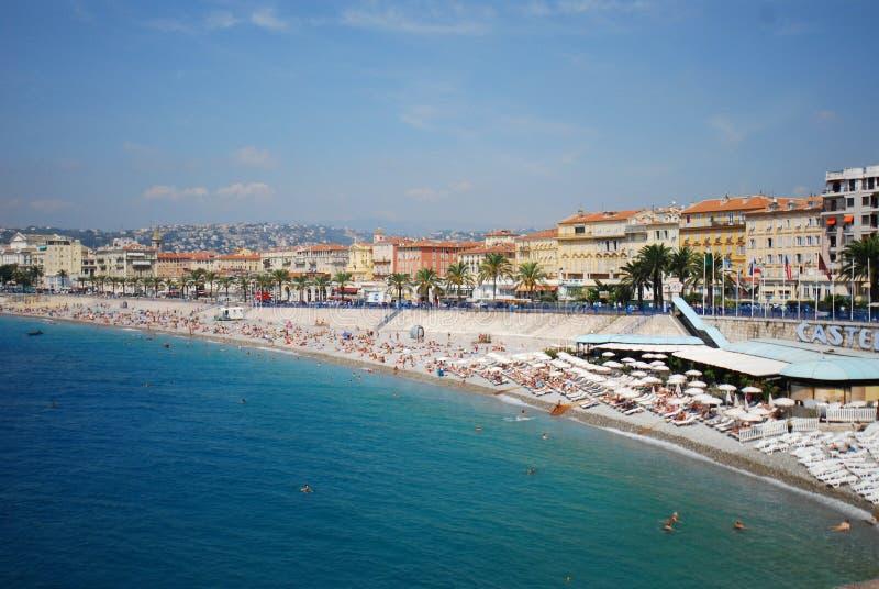 Promenade des Anglais, sea, body of water, sky, beach royalty free stock photo