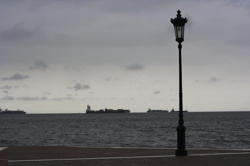 'promenade' en Salónica fotos de archivo libres de regalías