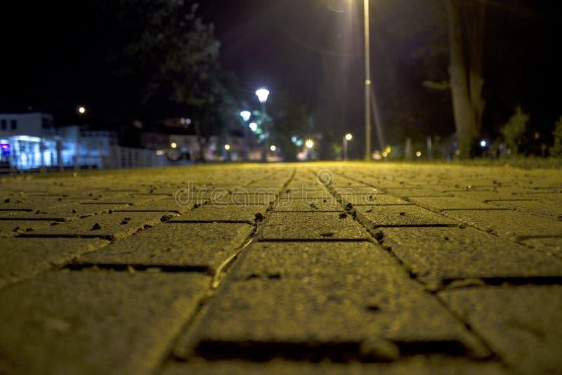 Promenade en stationnement images libres de droits