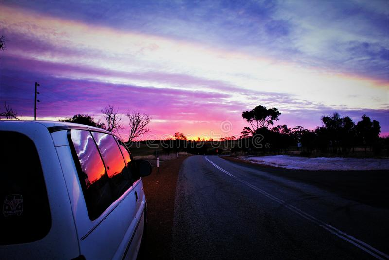 Promenade en voiture photographie stock libre de droits