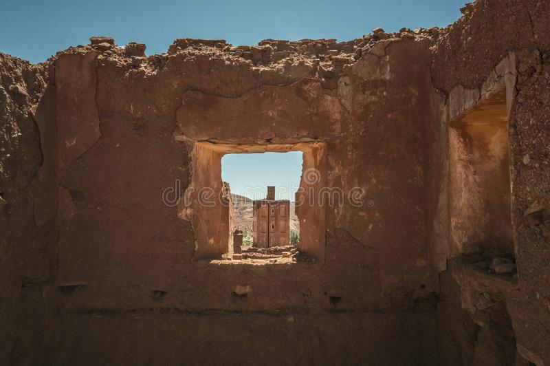 Promenade en voiture au Maroc photographie stock