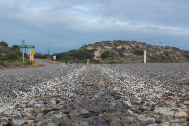 Promenade en voiture par l'Australie occidentale photo stock