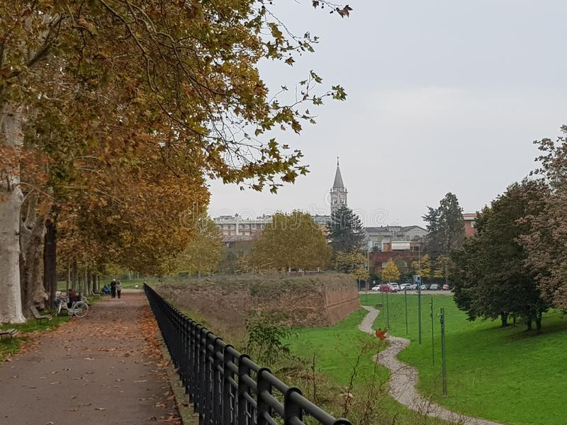promenade stock afbeelding