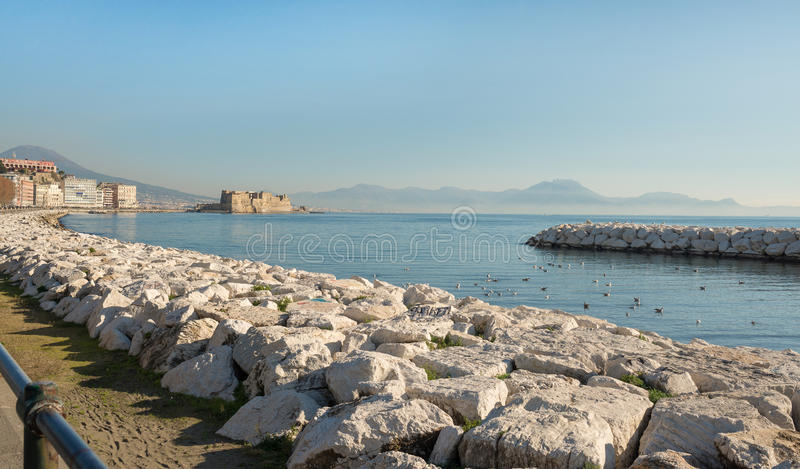 Download Promenade of Naples stock image. Image of naples, seagull - 83706863
