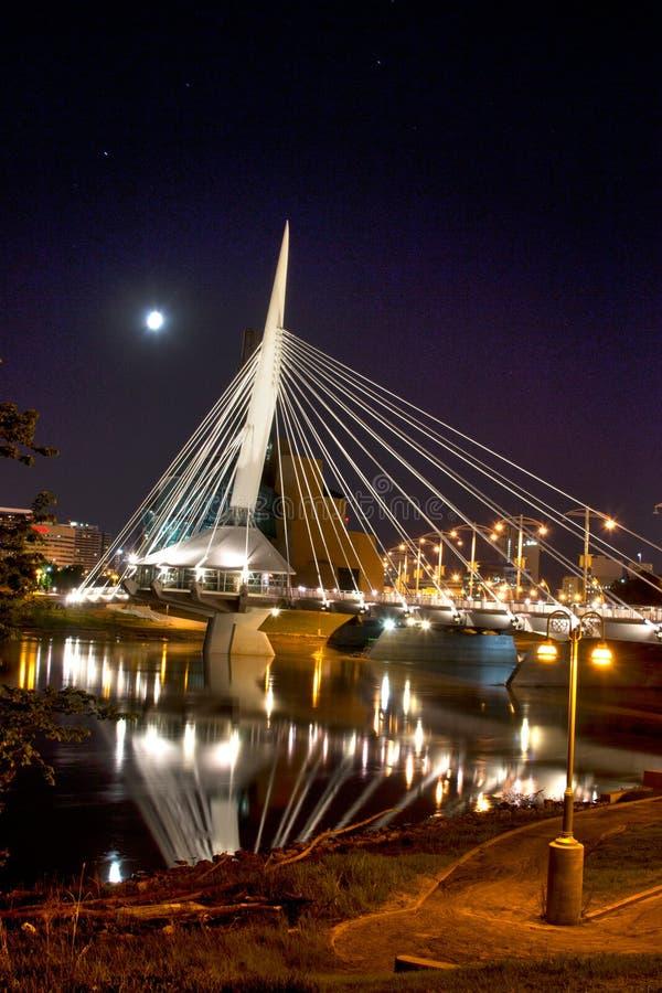 Promenade par Winnipeg images libres de droits