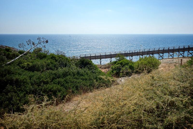 Promenade/Portugal de Carvoeiro photos libres de droits