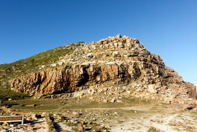 Promenade scénique du Cap de Bonne-Espérance, Afrique du Sud photographie stock