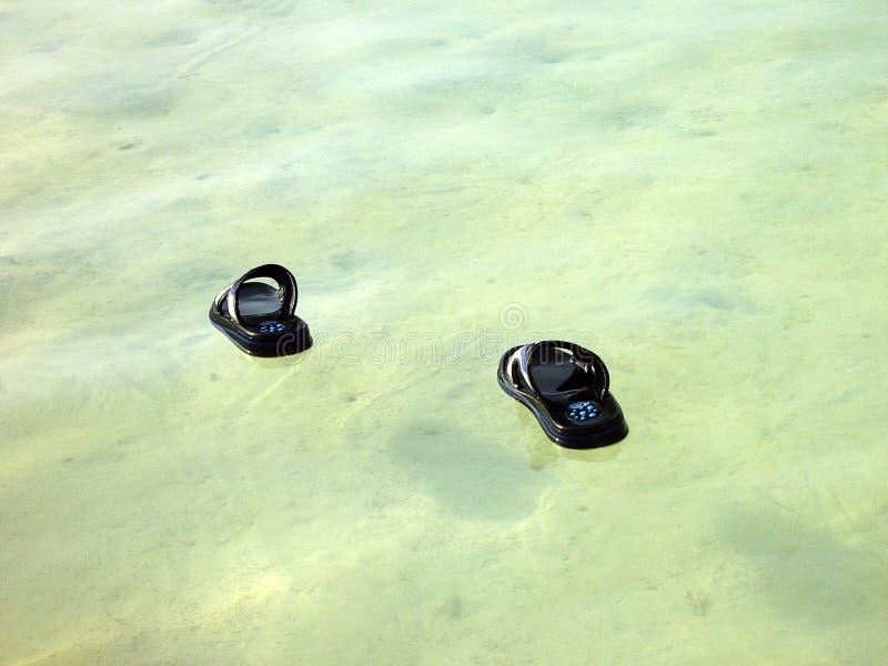 Promenade sur l'eau image stock